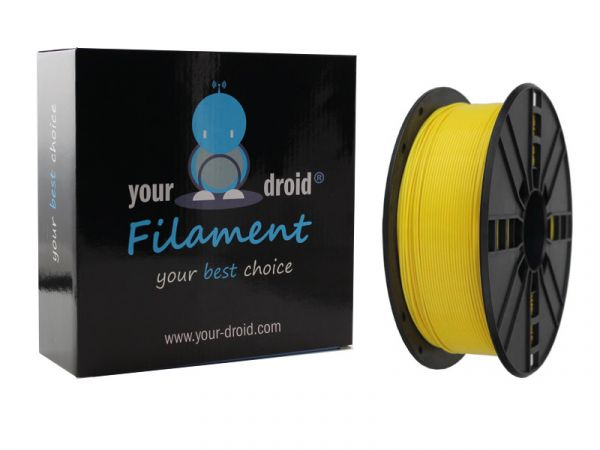 Your Droid ASA Filament Yellow 1.75mm 1kg