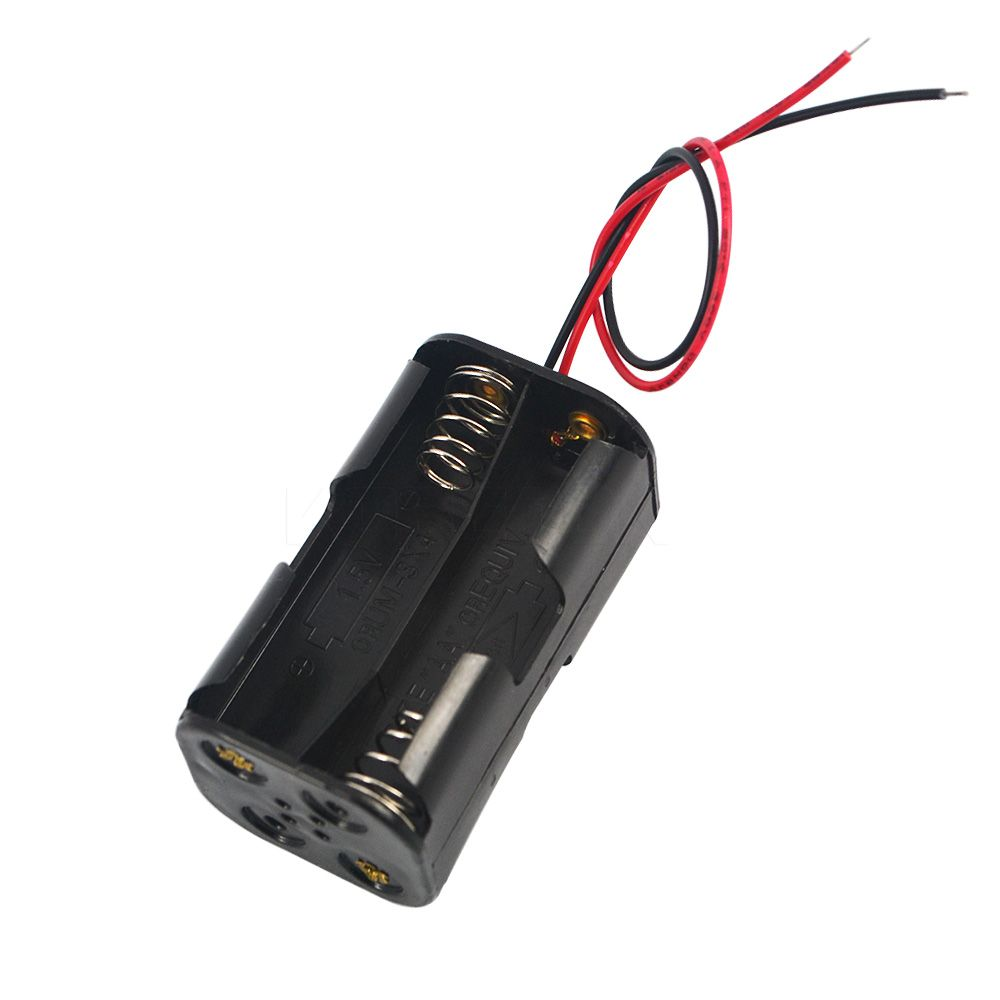Gehäuse für 4x AA Batterien 6V kompakt
