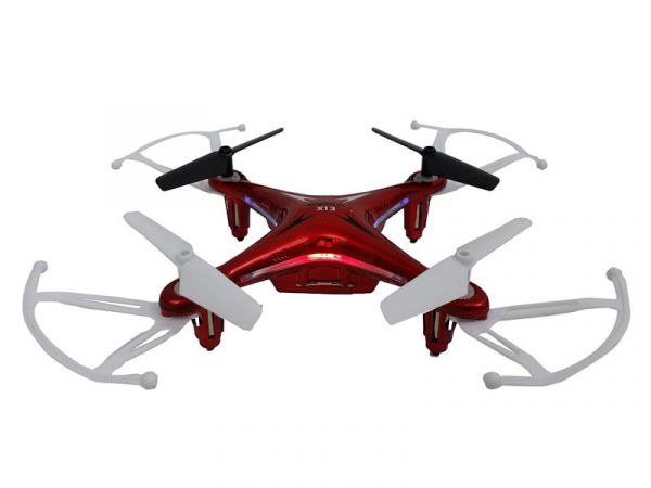 Quad-Copter SYMA X13 Storm 2.4G 4-Kanal mit Gyro (Rot)