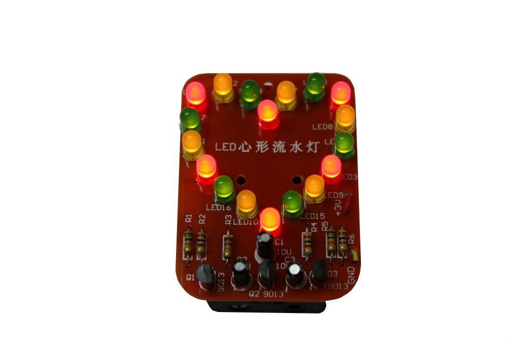 Bausatz: LED Herz 5mm LEDs