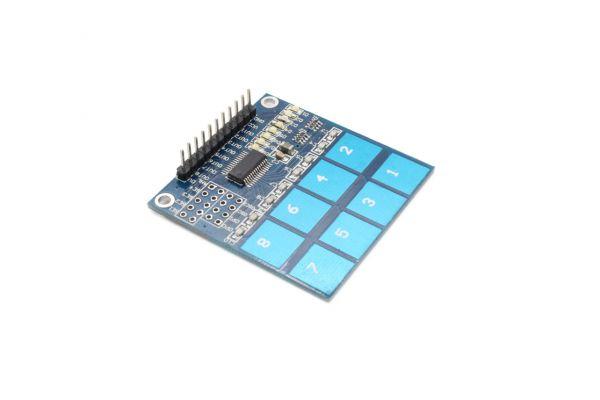 8 Kanal Touchsensormodul TTP226