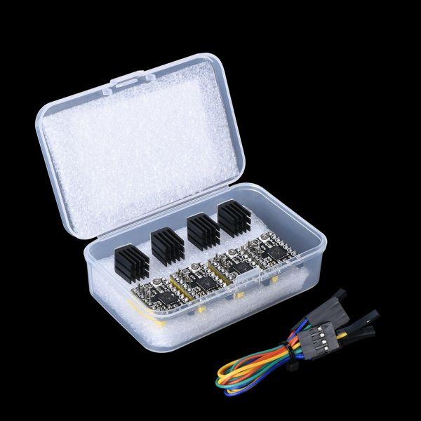 4x TMC2130 SPI Schrittmotortreiber