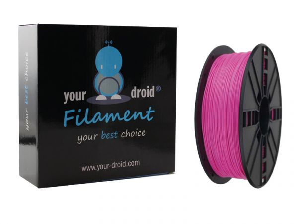 Your Droid ABS-Filament Pink 1.75mm 1kg