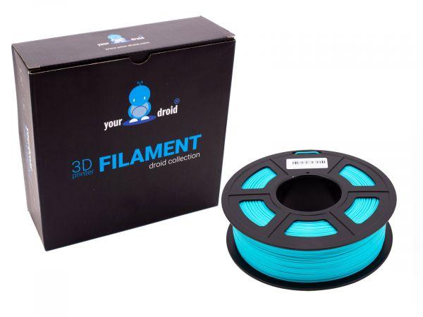 yourdroid PLA+  filament cyan