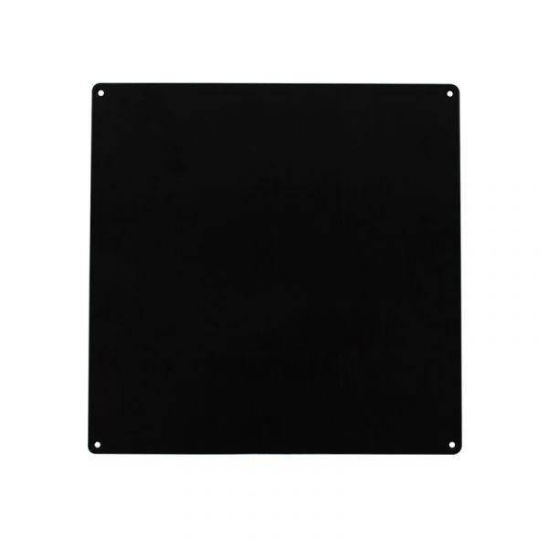Aluminiumplatte 220x220mm-schwarz