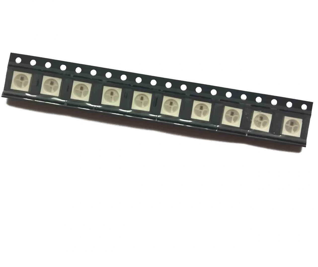 10 Stück SMD RGB-LED WS2812B