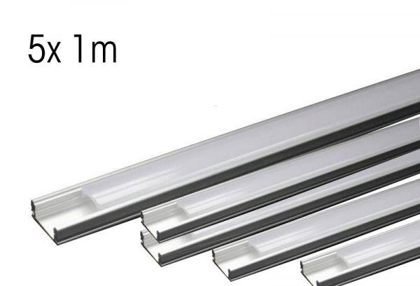 LED Aluminium-Profil schiene Slim