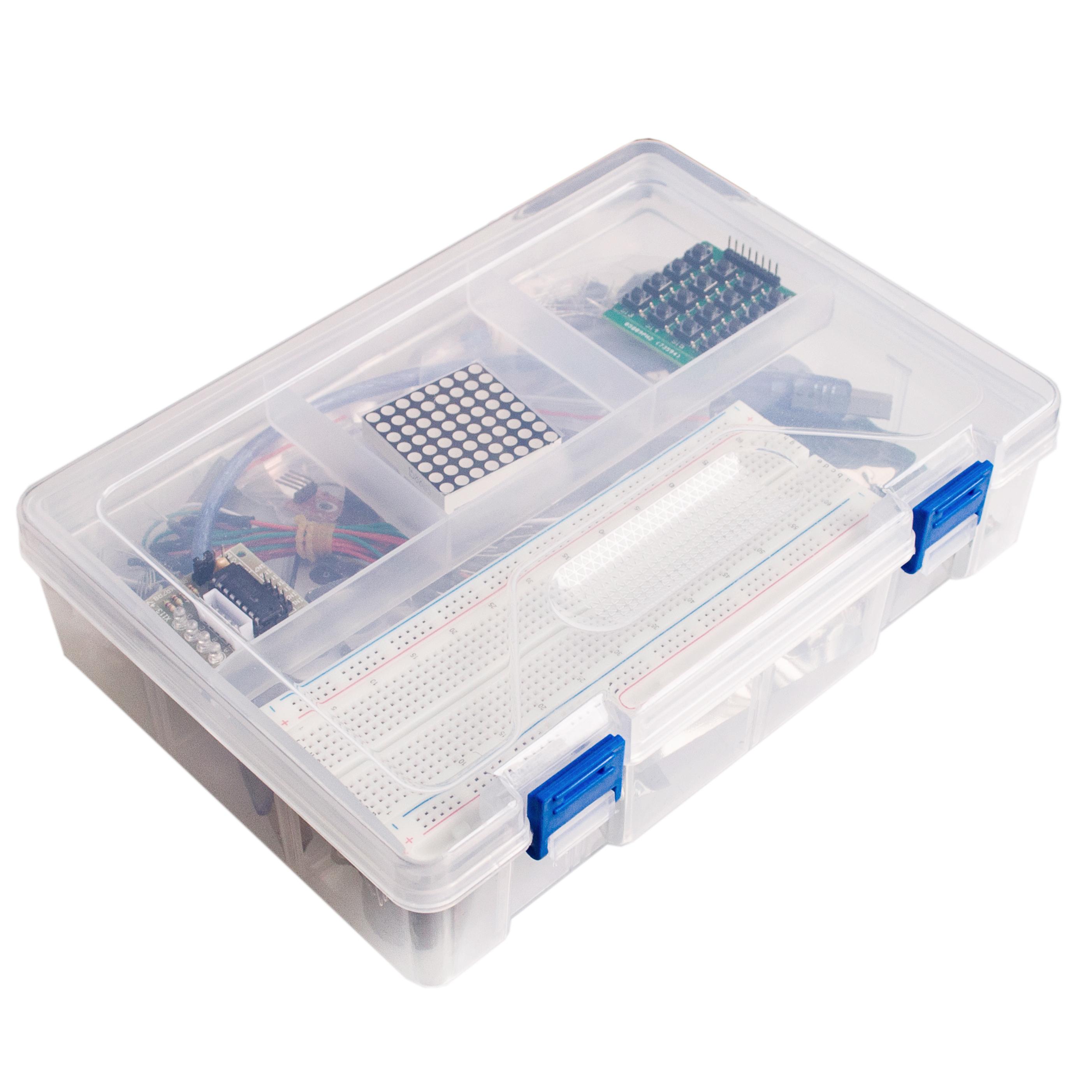 Starter kit für arduino uno r rfid im kunststoffkasten