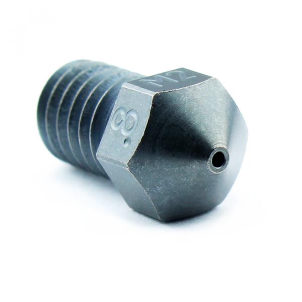 Micro Swiss M6 Düse 0.8mm 1.75mm aus M2 Stahl +450°C