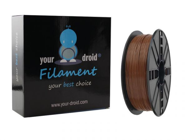 Your Droid ABS-Filament Brown 1.75mm 1kg