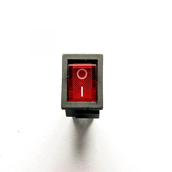 Wippschalter Ein / Aus beleuchtet 250V 6A