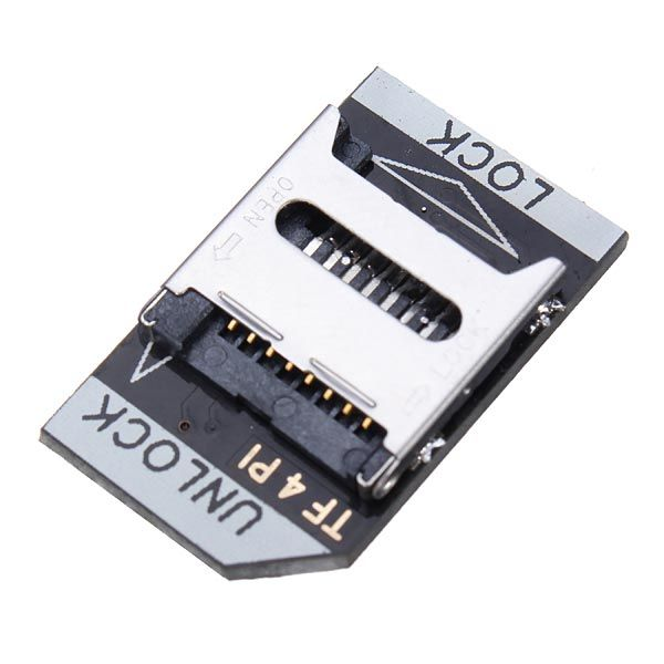 Rasperry Pi Low Profile TF Micro SD Card Adapter