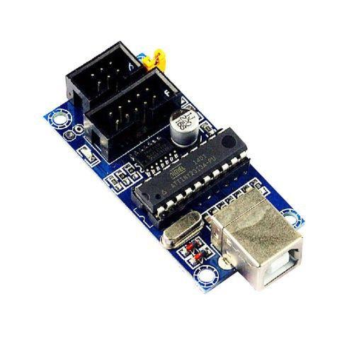 USB Tiny ISP Programmer mit Kabel 6/10pin für AVR