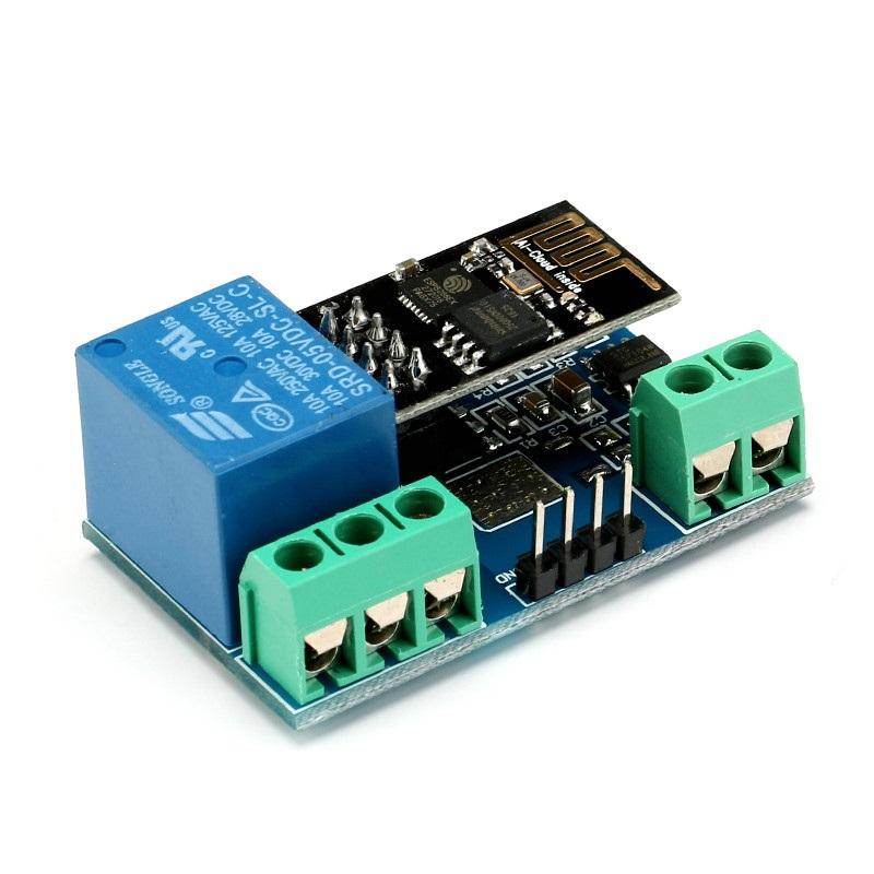Esp v wifi relay modul relais arduino raspberry ios