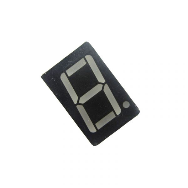 7-Segment LED-Anzeige 1 Bit Rot Common Anode 0.56""