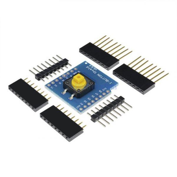 Wemos D1 Mini Button Shield