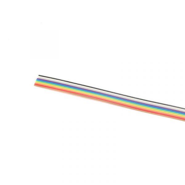 1 Meter Flachbandkabel 10-polig 1,27mm
