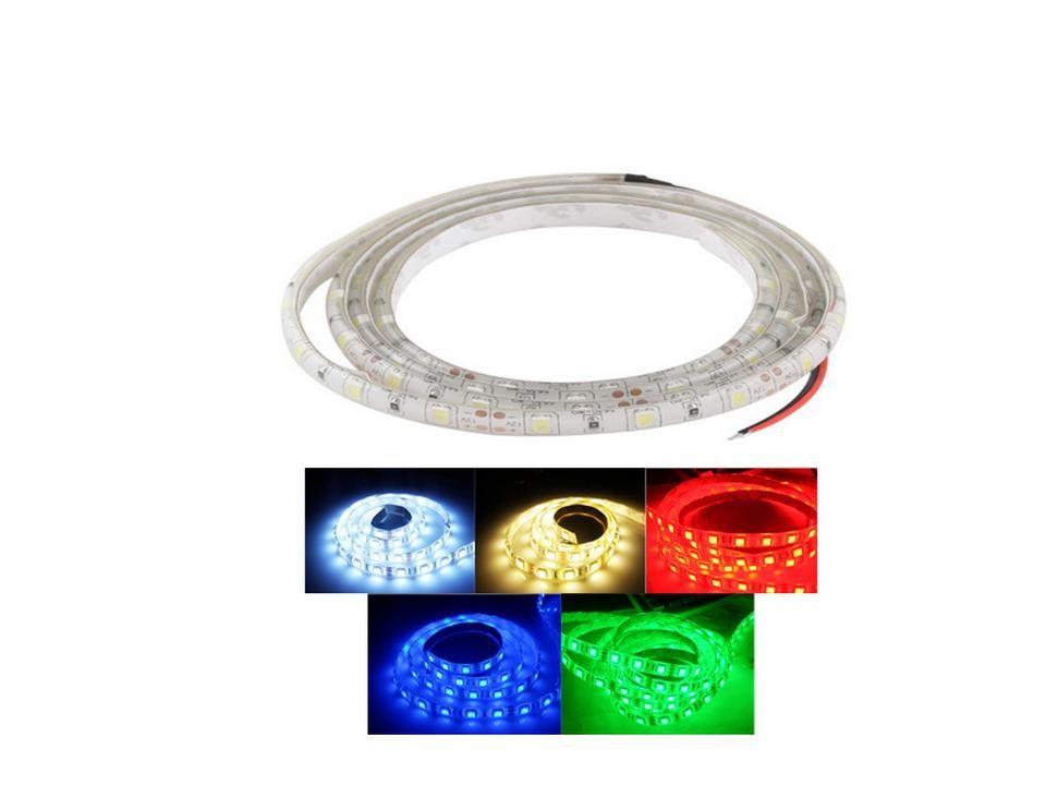 LED-Strip 5050 SMD RGB -wasserdicht- 60 LEDs-m DC12V - 1m