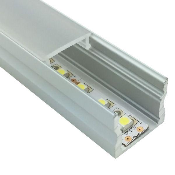 LED Einbau Aluminium Profil Schiene 1m