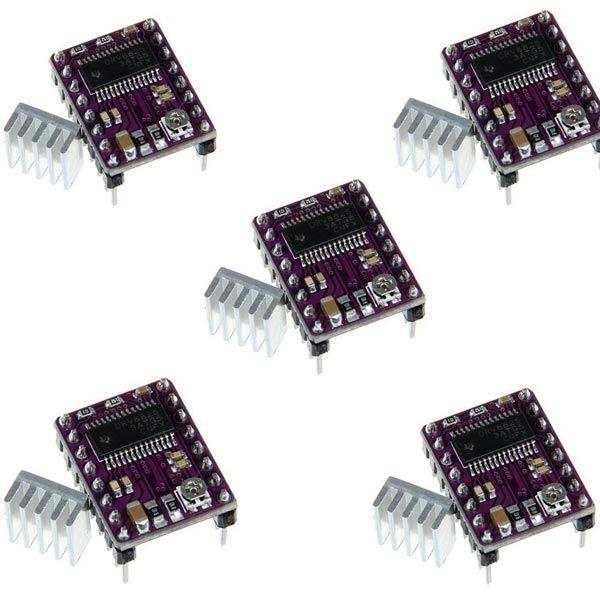 5er Set DRV8825 Schrittmotor Treiber für CNC und 3D-Drucker