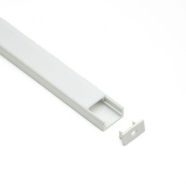 Aluminiumprofil Schiene Super Slim 1m