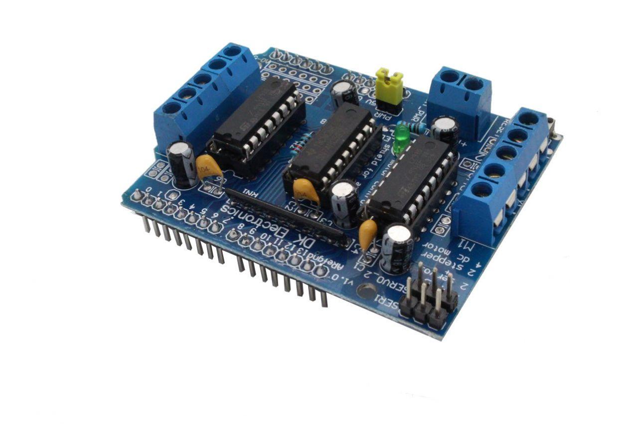 L293D Motortreiber Shield für Arduino