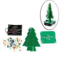 Bausatz: Dreidimensionaler LED-Weihnachtsbaum