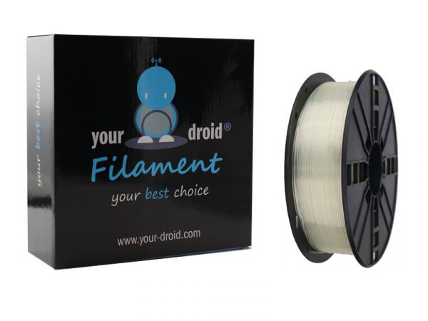 Your Droid PLA-Filament transparent