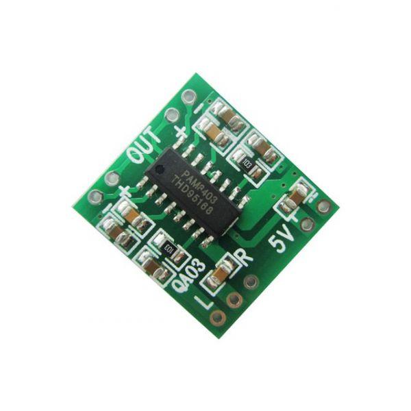 PAM8403 Mini Verstärkerplatine 2 * 3W