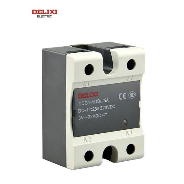 DELIXI DC-DC Solid State Relais CDG1-1DD/220VDC 25A