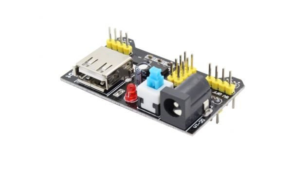 MB102 Stromversorgung für Steckboards - 3,3V und 5V