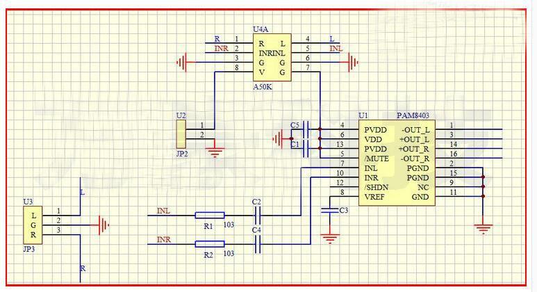 PAM8403 Audioverstärkerplatine mit Drehregler5 V 2*3W DIY-Elektronik ...