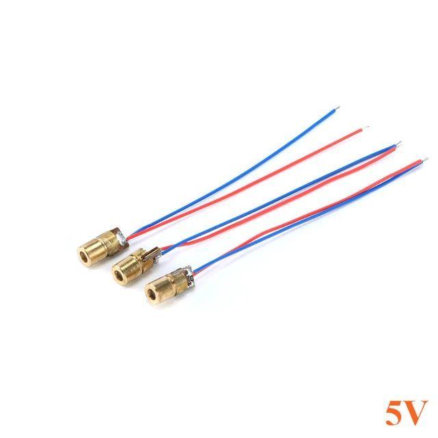 10x Laser Diode 5mW mit 650nm - DIY-Laser-Pointer