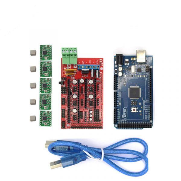 RAMPS 1.4 Kit + Mega2560 R3 + 5 x A4988 Treiber für RepRap 3D Drucker