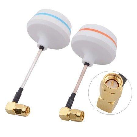 5,8Ghz Cloverleaf Antennen Set SMA Pin gewinkelt