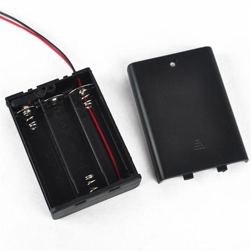 Batteriehalter für 3x AA Batterien 4-5V mit An-Aus-Schalter