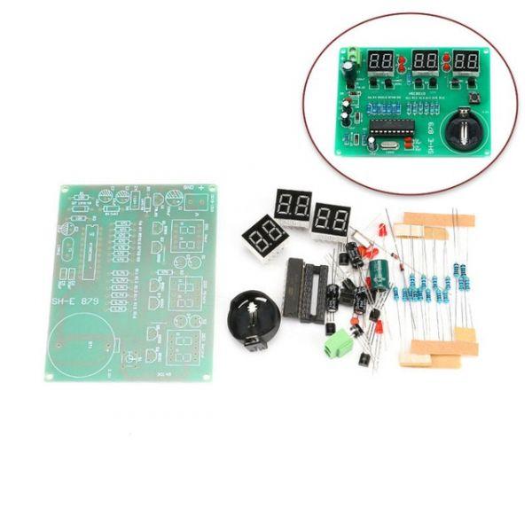 Bausatz Digitale Uhr mit at89c2051 Chip neue Version