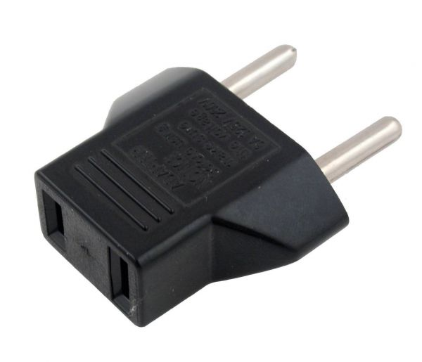 Reisestecker US auf EU Adapter