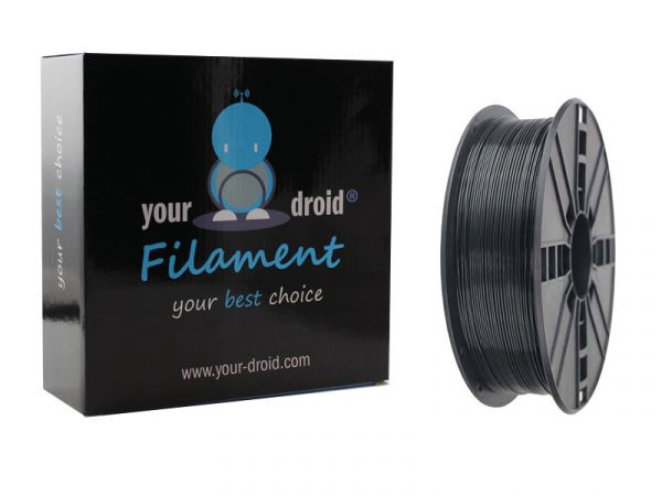 Your Droid ASA Filament Black 1.75mm 1kg