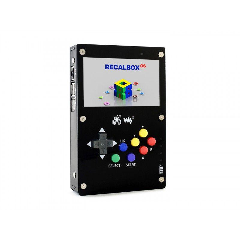 Waveshare GamePi43 Handheld Spielekonsole mit Raspberry Pi