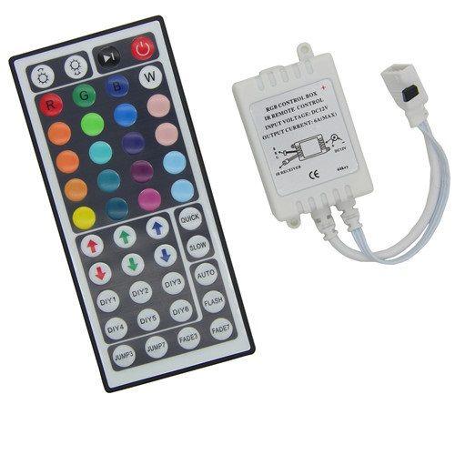 44 Tasten IR Control Box für RGB LED Strips mit Fernbedienung