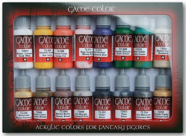 Vallejo Game Color Einsteiger Set (16 Farben)