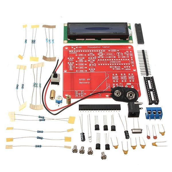 Bausatz: Kondensator-Widerstand-Tester