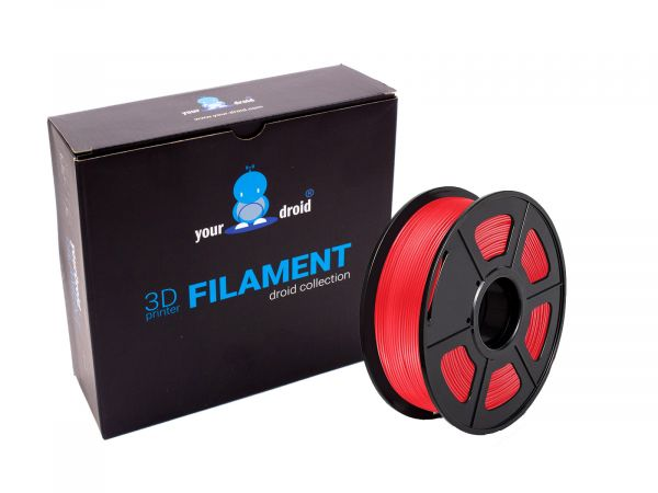 yourDroid TPU Filament Rot 1.75mm 500g