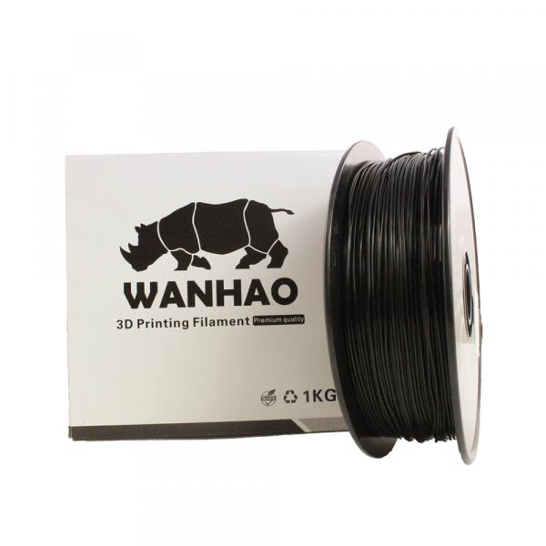 Wanhao PLA Filament Schwarz 1.75mm