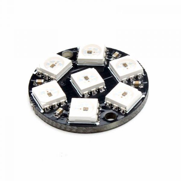 7Bit RGB LED Ring WS2812 5V ähnl. Neopixel