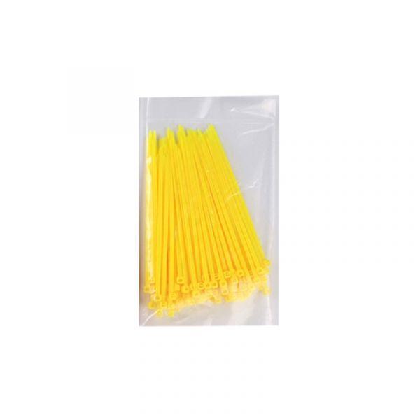 100 Kabelbinder Gelb 2,5*100mm