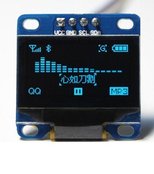 "0.96"" OLED Display I2C/IIC/TWI 128x64 Pixel für Arduino"