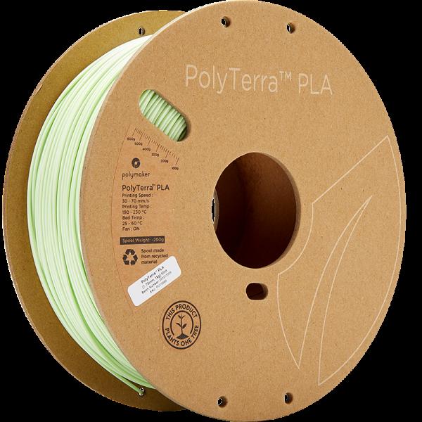 Polymaker PolyTerra PLA Filament Mint 1.75mm 1kg