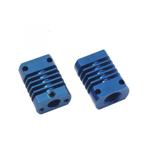 Kühlkörper für CR-10 3D-Drucker Hotend (blau)